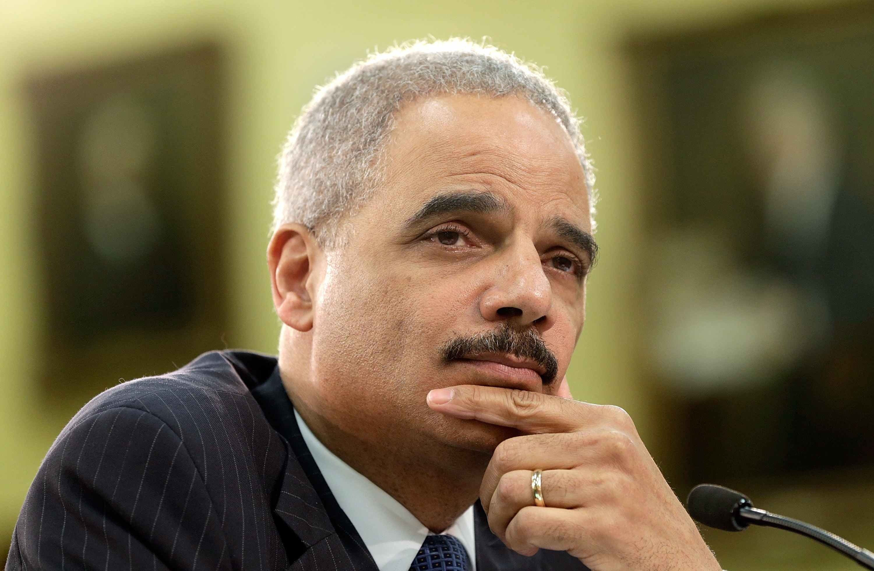 Attorney General Eric Holder, who authorized the NSA's domestic surveillance in secret legal documents made public today.