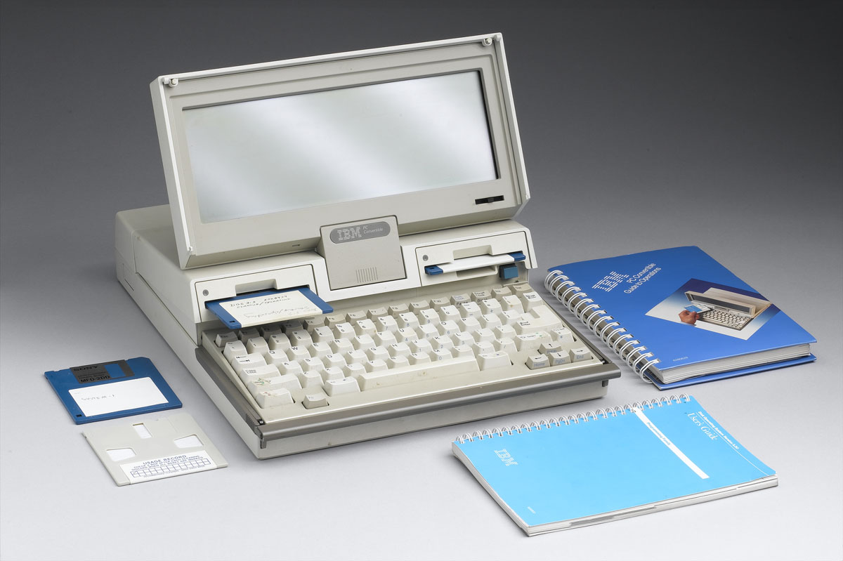 What a laptop computer looked like in 1987
