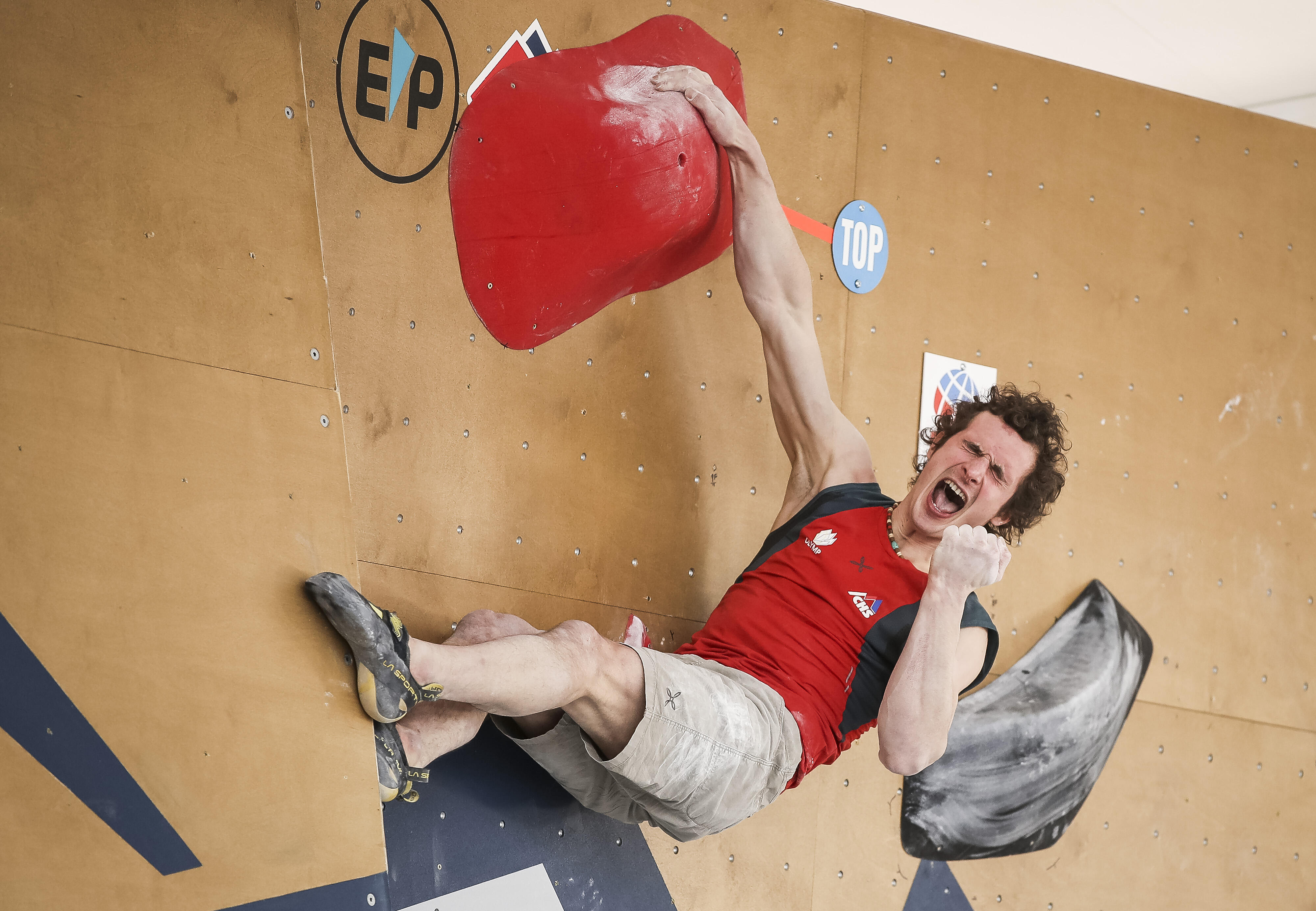 <p>Adam Ondra is among the favourites for the first men's gold medal in sport climbing.</p>