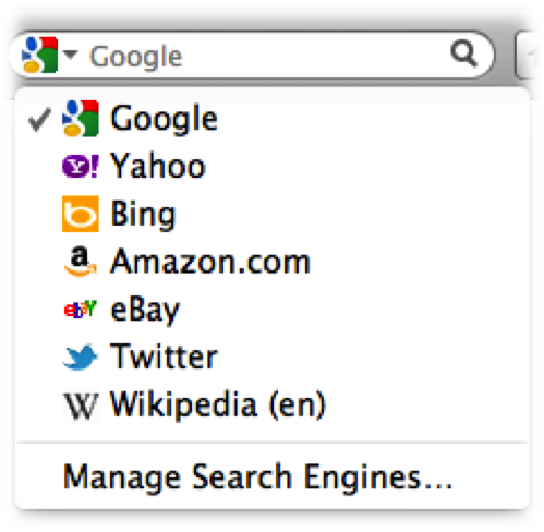The beta version of Firefox 8 lets people try out built-in Twitter search.