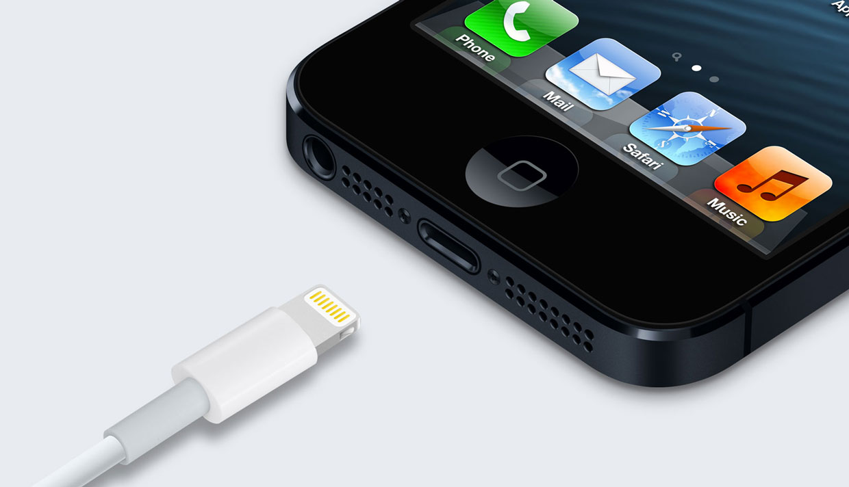 Apple's new Lightning connector for its iPhone 5 and new iPod Touch