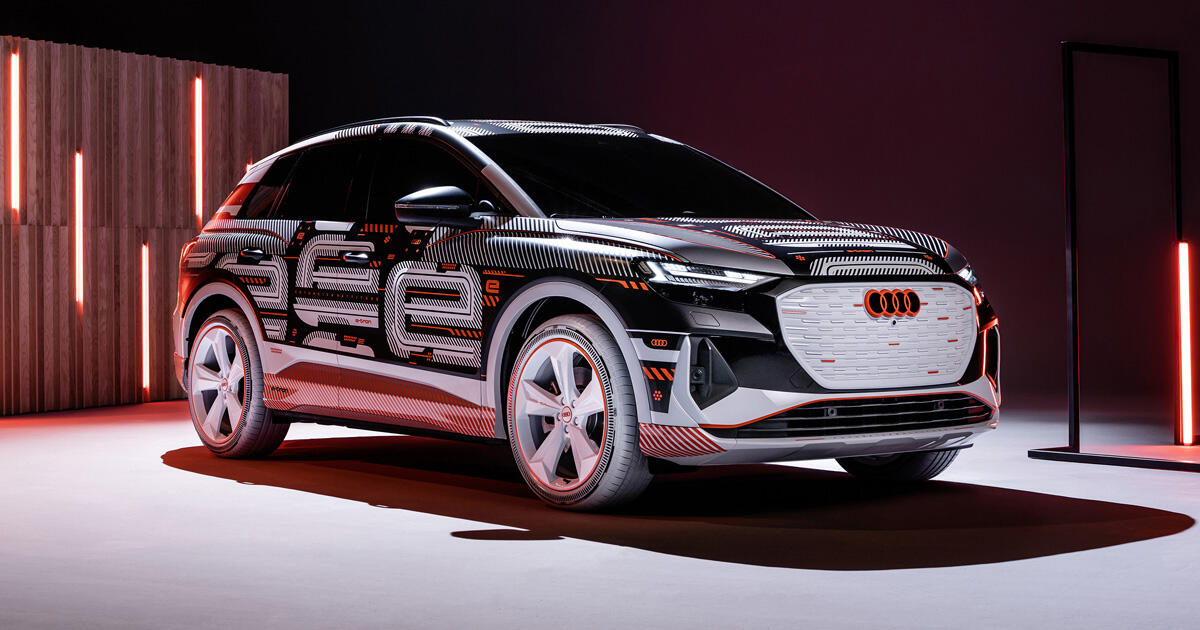 Audi starts production of its Q4 E-Tron electric crossover     – Roadshow