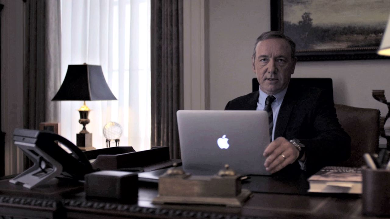 Video: 'House of Cards' season 3: Totally obsessive tech-spotting