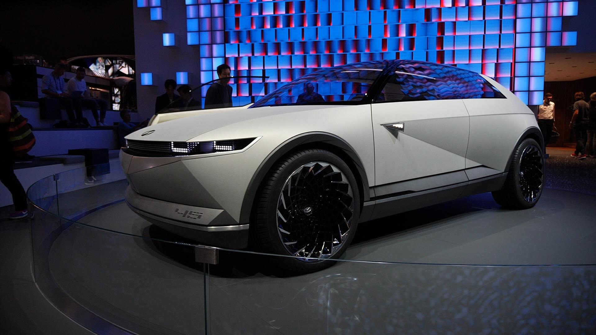 Video: Hyundai goes back to the future in Frankfurt with the 45 concept
