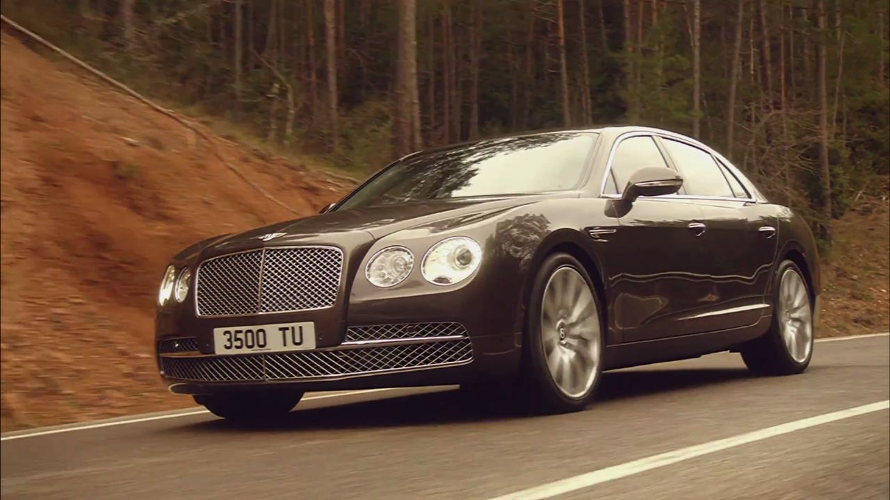 Bentley Continental Flying Spur: 15 mpg