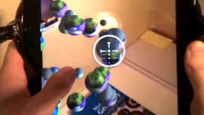 Ball Invasion augmented reality iPad game