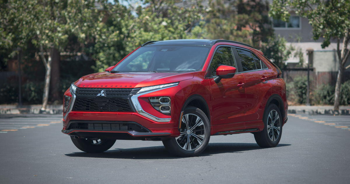 2022 Mitsubishi Eclipse Cross review: Better, but far from the best     - Roadshow