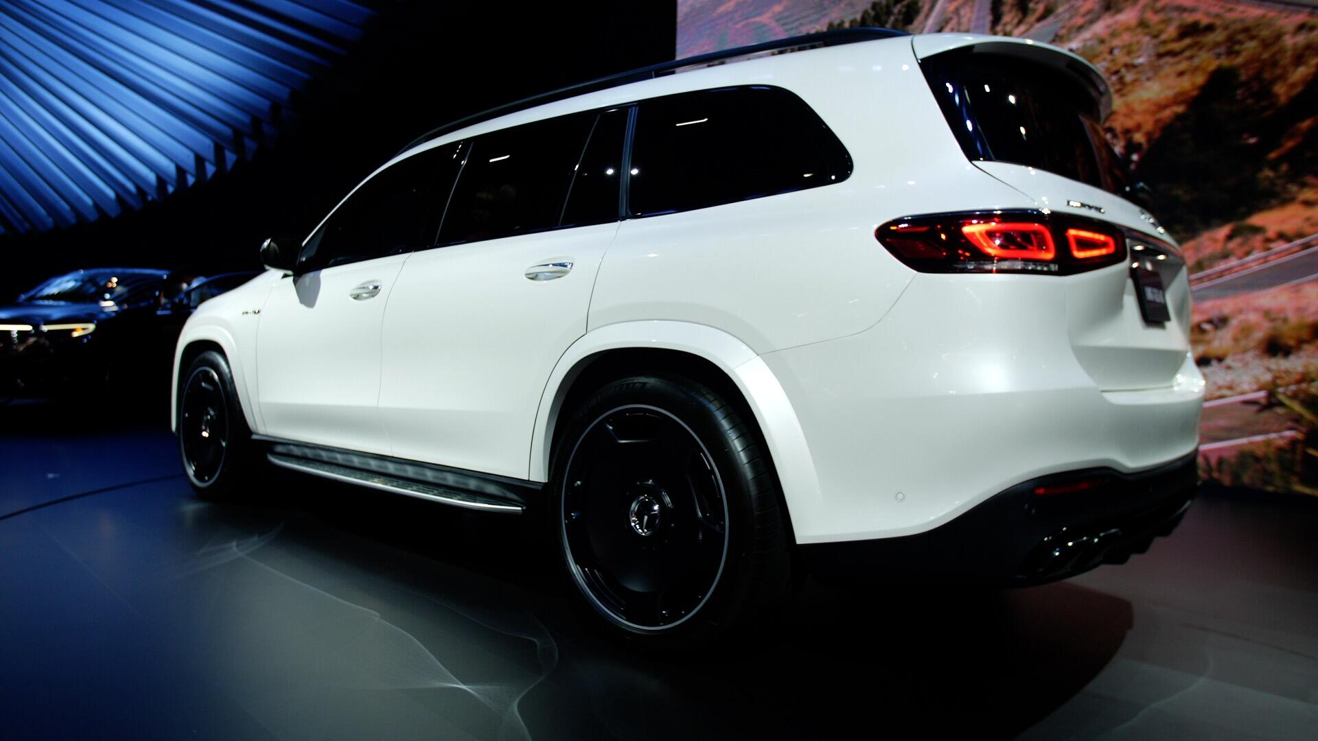 Video: 2021 Mercedes-Benz GLE and GLS get the AMG treatment
