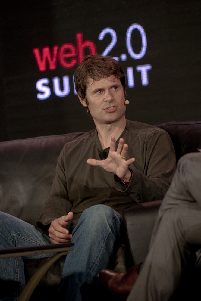 Pandora founder and Chief Strategy Officer Tim Westergren at the Web 2.0 Summit in 2011.