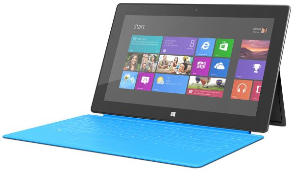 The Surface RT now starts at $349, but a keyboard still isn't included.