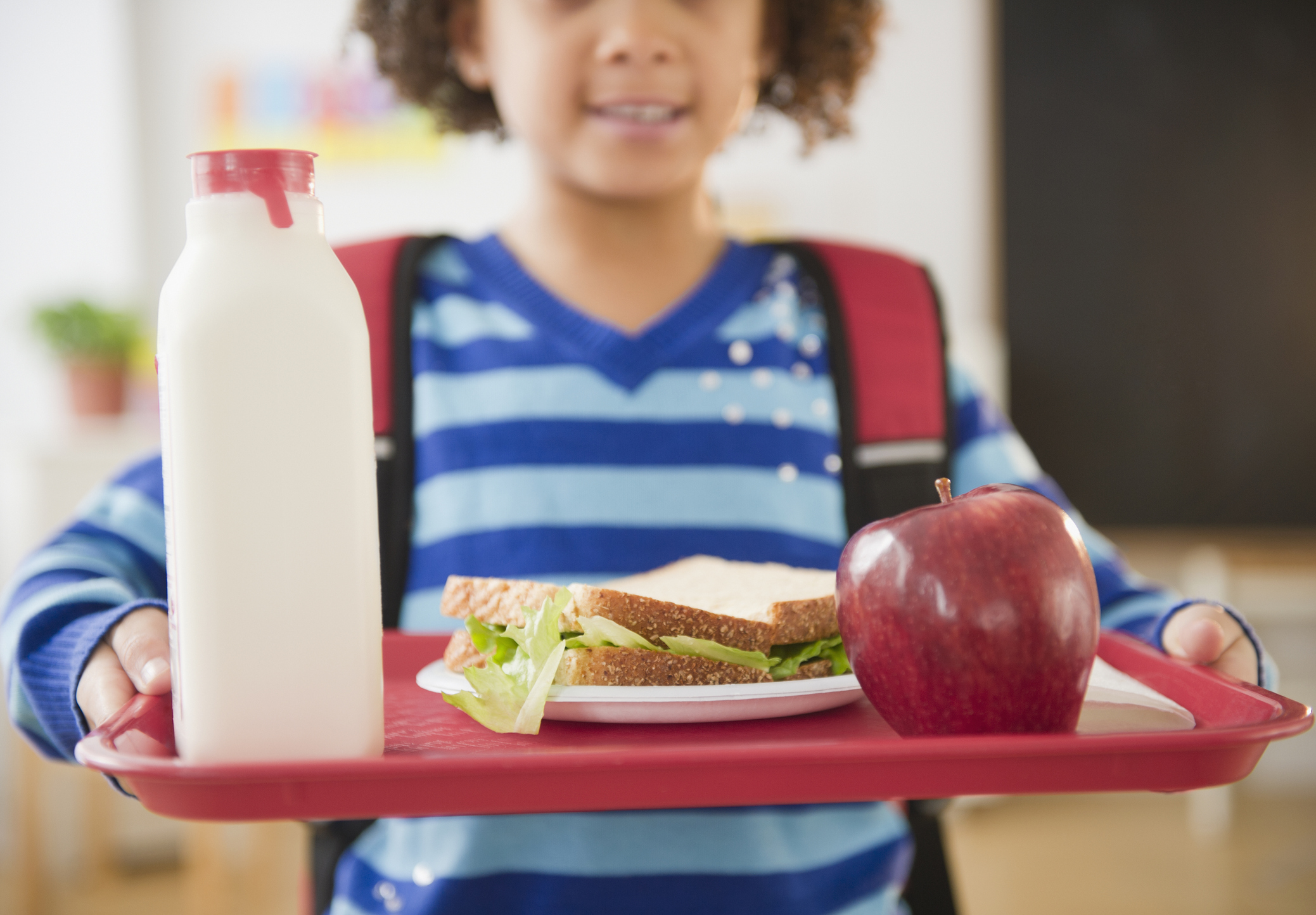 <p>Some children in UK schools are paying for their lunch with their faces.</p>