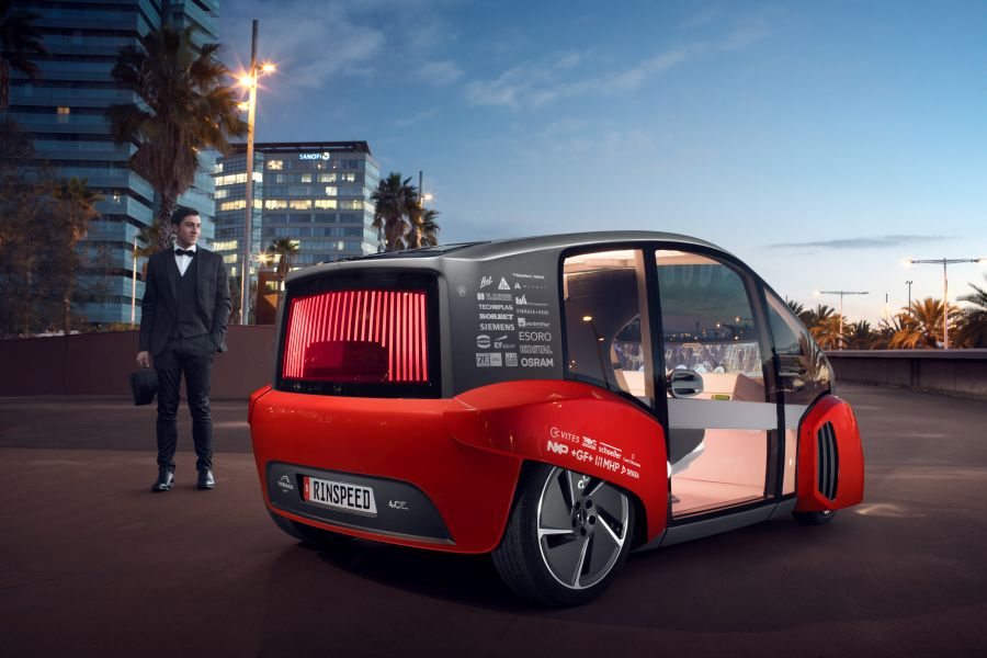 Rinspeed Oasis CES Concept