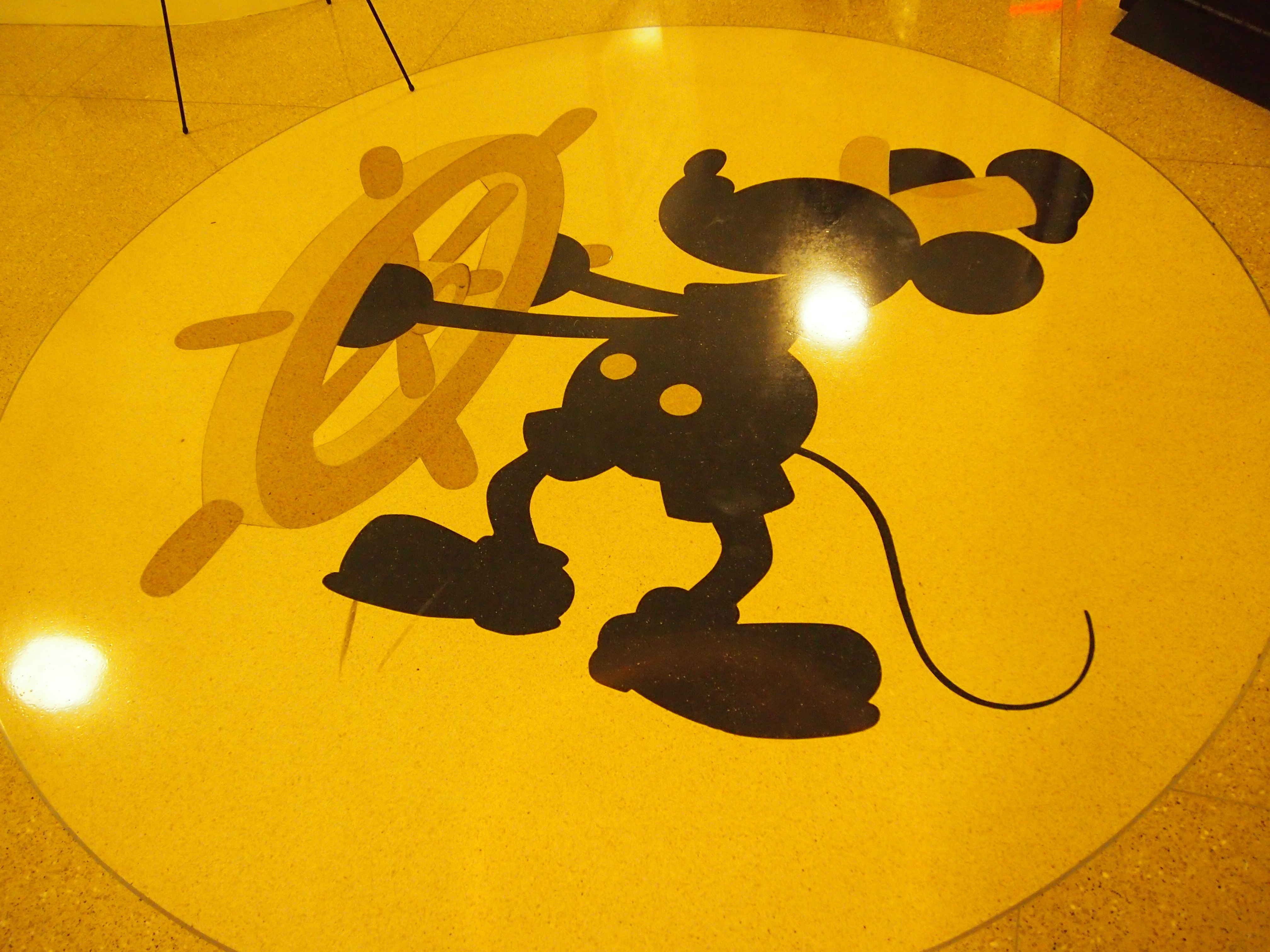 Don't step on Steamboat Willie