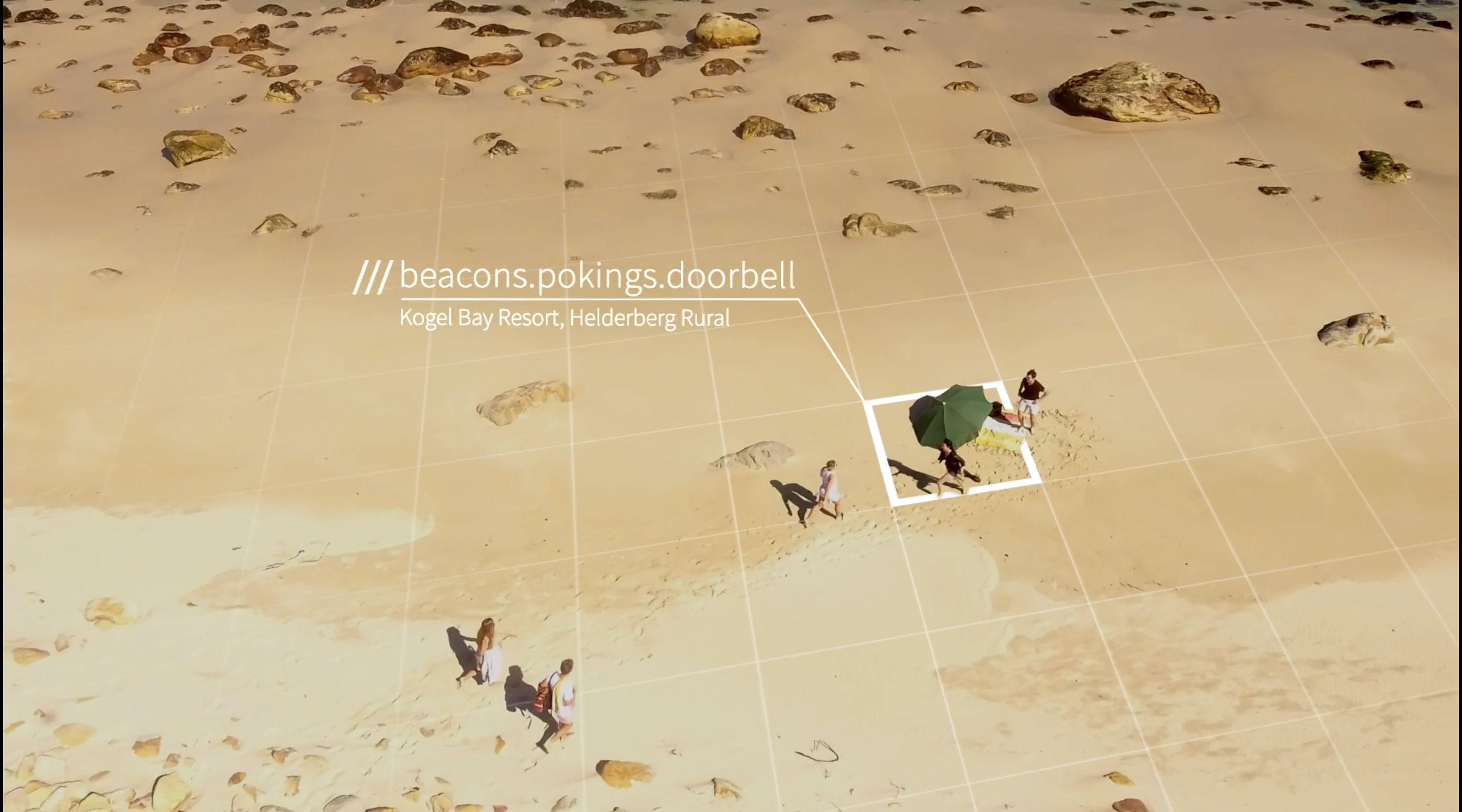 Want to meet at an obscure spot on a South African beach? What3words has a label for it.