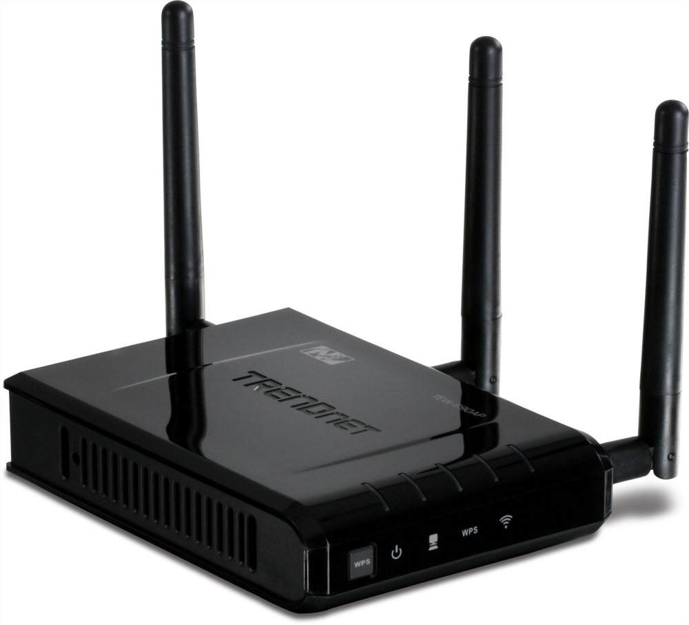 The first 450Mbps access point from TrendNet.