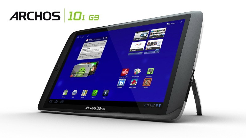 The Archo 101 G9 HDD-based tablet computer.