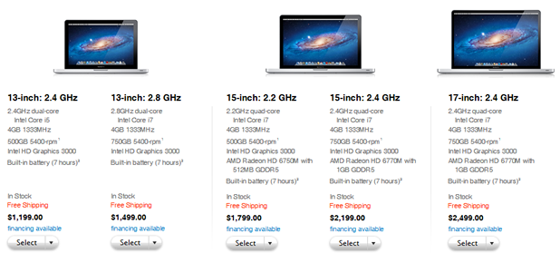 Apple has upgraded its MacBook Pro lineup with a series of minor but useful enhancements.