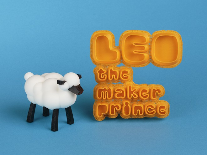 """""""LEO the Maker Prince"""" by Carla Diana inspires young readers to create toys of the book's characters using 3D printers."""