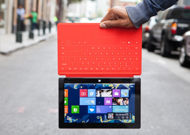 Microsoft's current Windows RT-based Surface tablet.