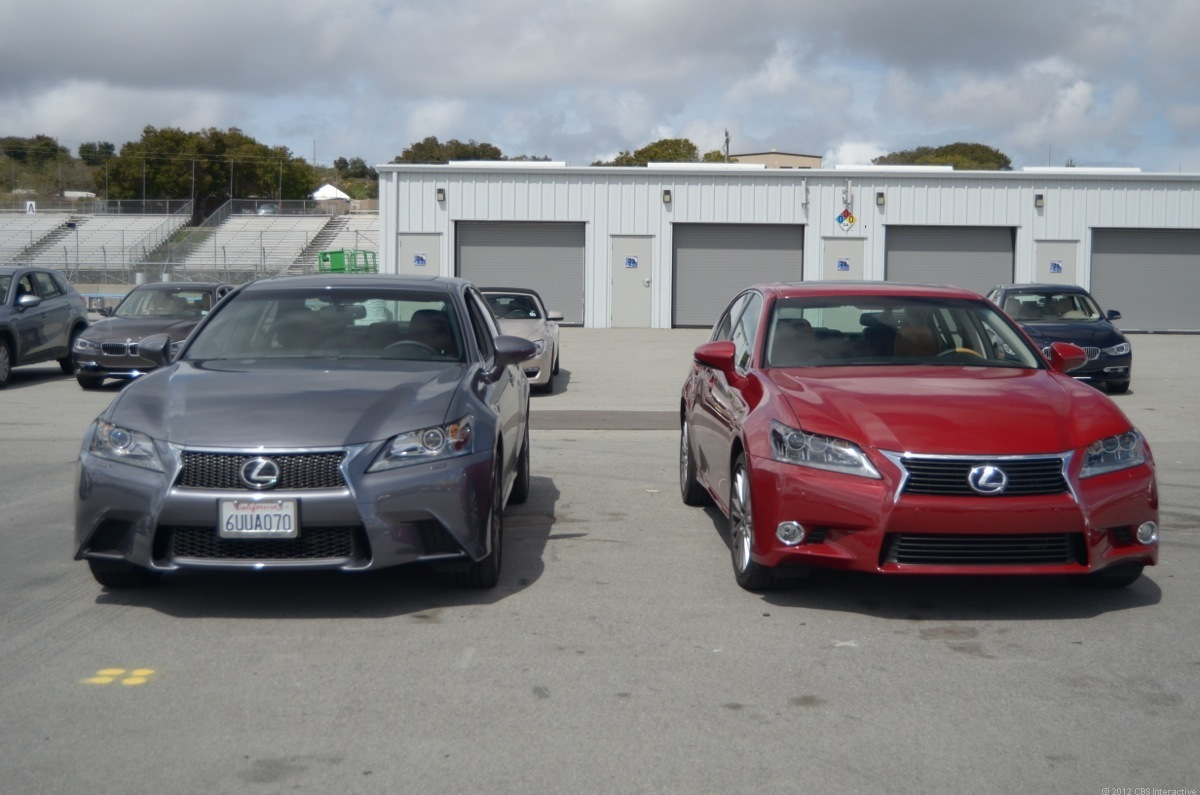 Lexus GS 350 and 450h