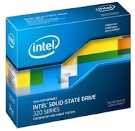Intel solid-state drive 320 Series.
