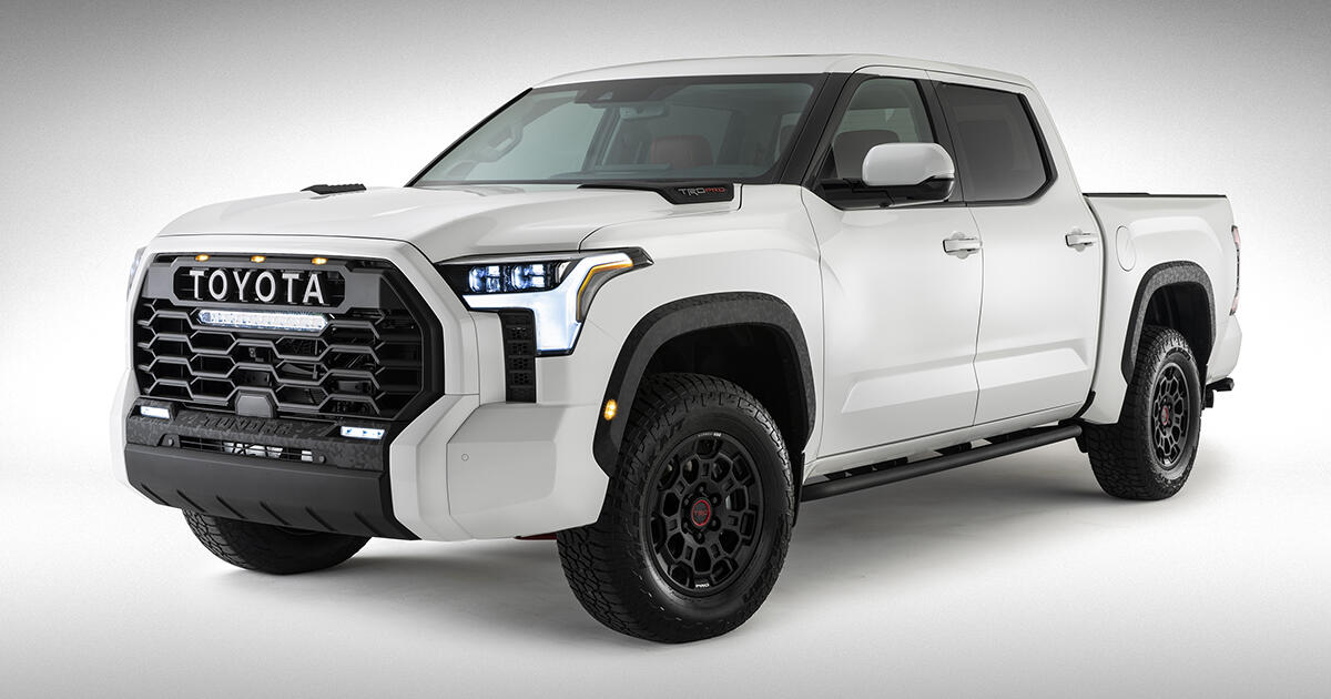 2022 Toyota Tundra revealed in first official photo - CNET