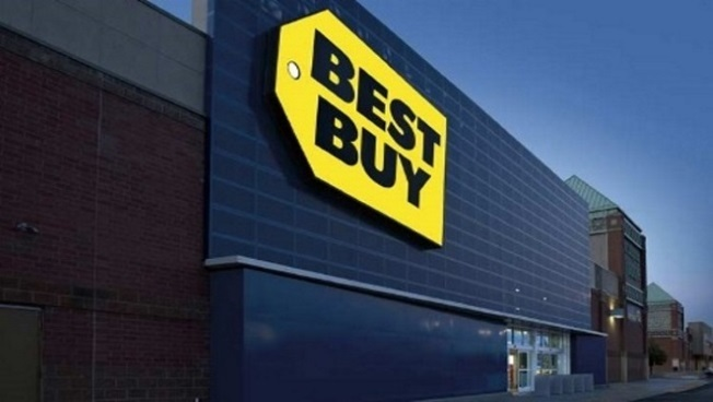 Facade of a Best Buy store