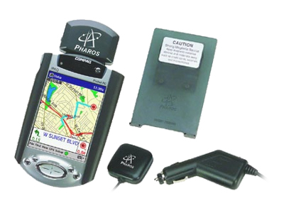 Pharos Pocket GPS Portable Navigator - GPS kit
