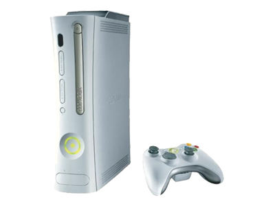 Microsoft Xbox 360 Pro (20GB, HDMI) with Forza Motorsport 2 and Marvel: Ultimate Alliance