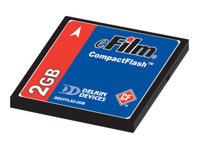 Delkin e-Film CompactFlash 2GB