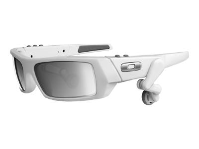 Oakley Thump 2 (512MB, white/black iridium)