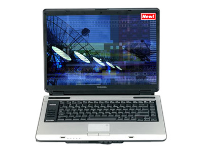 Toshiba Satellite A105-S4054 (Core Solo 1.86 GHz, 512 MB RAM, 80 GB HDD)