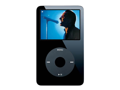 Apple iPod (fifth-generation update, 30GB, black)