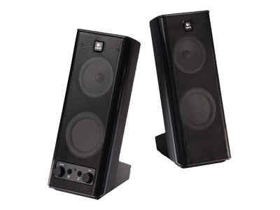 Logitech X-140 - speakers - For PC - wired