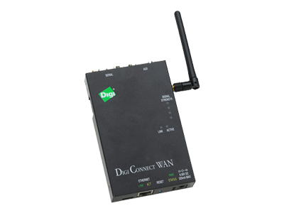 Digi Connect WAN VPN 1XRTT - wireless router - cellular modem - desktop