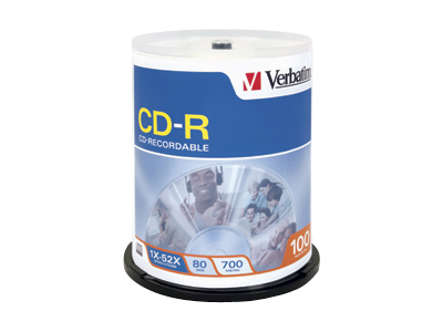 Verbatim - CD-R x 100 - 700 MB