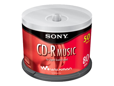 Sony CDR Music CRM80LS2 - CD-R x 50