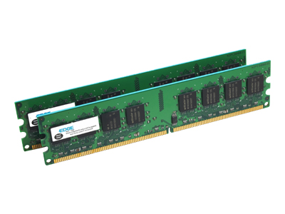 EDGE memory - 4 GB : 2 x 2 GB - DIMM 240-pin - DDR2