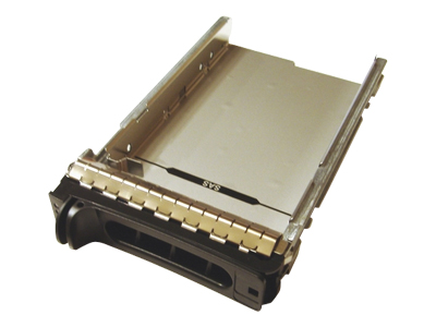 Dell hard drive hot-plug tray