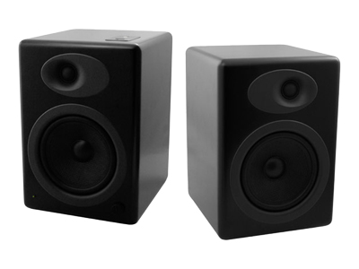 Audioengine A5B Powered Bookshelf Speaker System - Black Finish