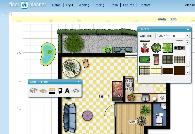 Floor planner helps to plan your pad cnet for Floorplanner software