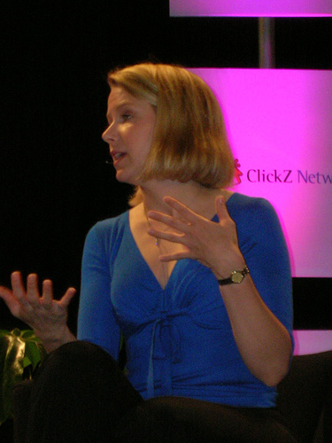 photo of Google's Marissa Mayer