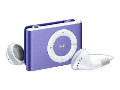 Apple iPod Shuffle (second generation 2007, 2GB, purple)