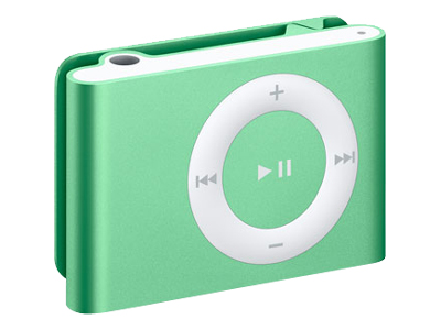 Apple iPod Shuffle (second generation 2007, 2GB, green)