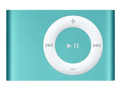 Apple iPod Shuffle (second generation 2007, 1GB, blue)