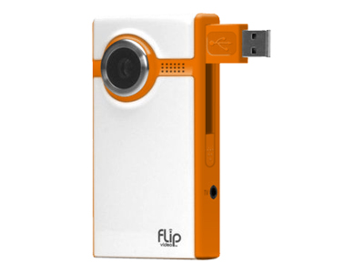 Flip Video Ultra (60 minutes, orange)