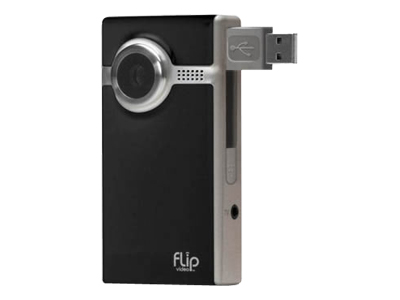 Flip Video Ultra (60 minutes, Black)