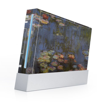 Wii with Monet's Water Lilies.'