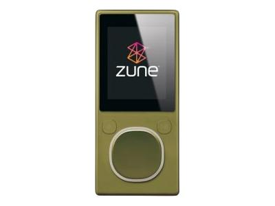 Zune (second generation, 8GB, green)