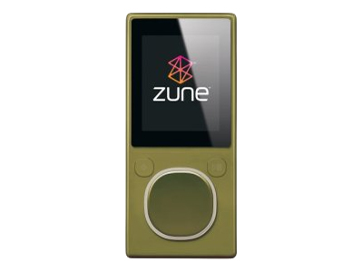 Zune (second generation, 4GB, green)